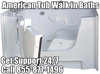 American tubs walk in baths senior resources for Walk in tub water capacity