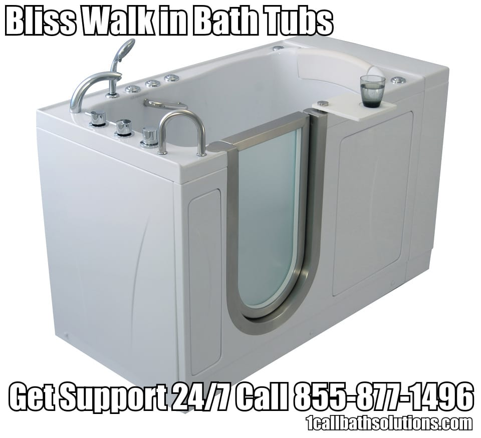 Bliss Walk In Tubs Discounts And Handicap Accessiblity