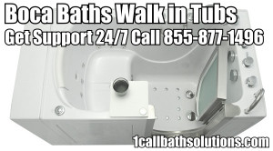 Boca Baths Walk in Bath Tubs Handicapped Discounts and Installation