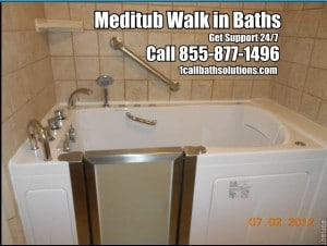Discount Meditub Walk in Bath Tub Installation / Reviews/ Support