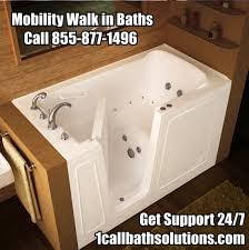 Discount Mobility Baths Walk in Bath Tub Support / Reviews / Prices