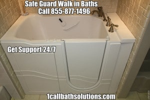 Discounts on Safe Guard Walk in Bath Tubs and Installation Prices