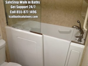 Discounts on Safe Step Walk in Tubs and Installation Services Support