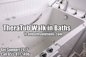 Discount TheraTub Walk In Bath Tub Installation Prices and Support